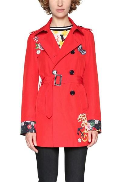 kabát Desigual Tango Pasion barberry velikost  42  76f0df4d2e3