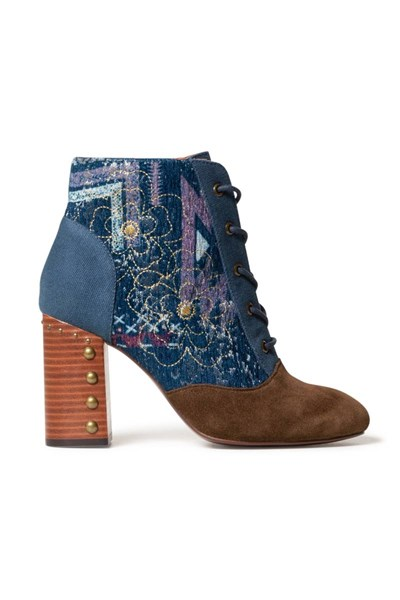 topánky Desigual Holly Flow medieval blue
