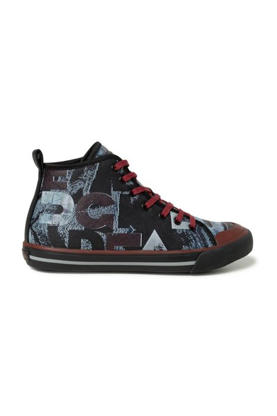 topánky Desigual Sneaker High Desig negro