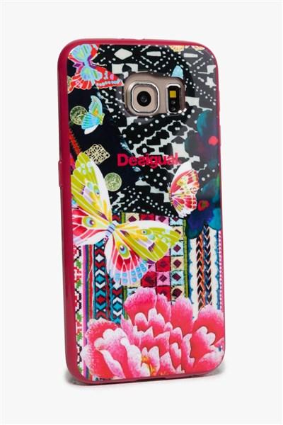 f7298deb7c obal na telefón Desigual Samsung 6 L fuxia magico
