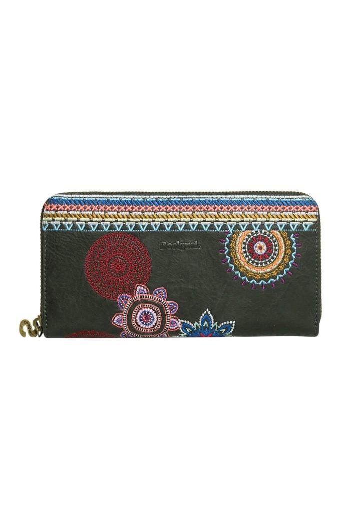 peňaženka Desigual Fiona Amber negro velikost  U  8e0574390b0