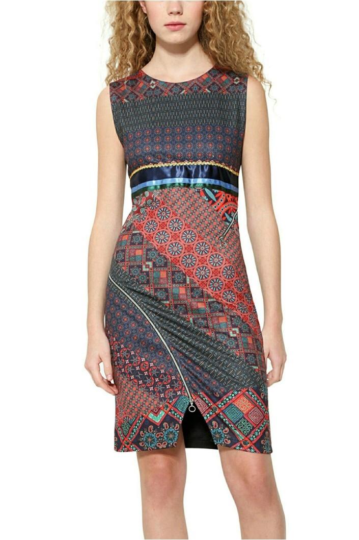 šaty Desigual Trueno lavender  e981d70f69f