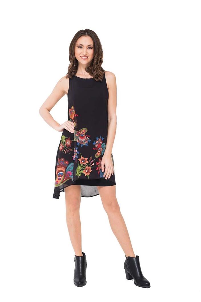 šaty Desigual Aneta Rep negro  0cba8ffad93