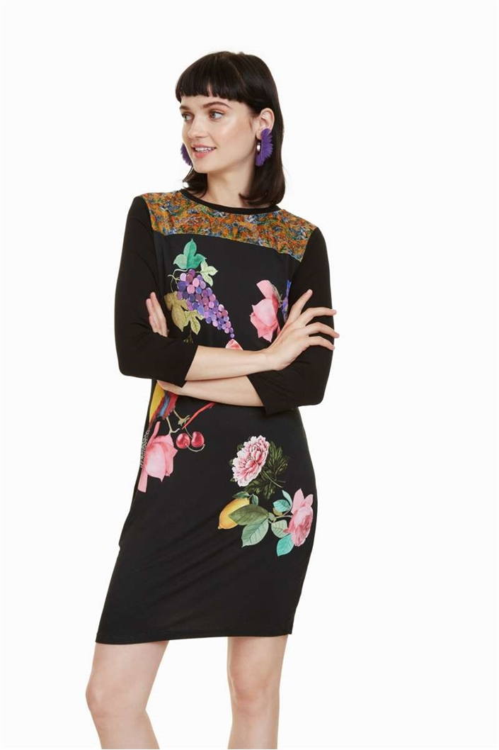 šaty Desigual Vanity negro  b510197e906