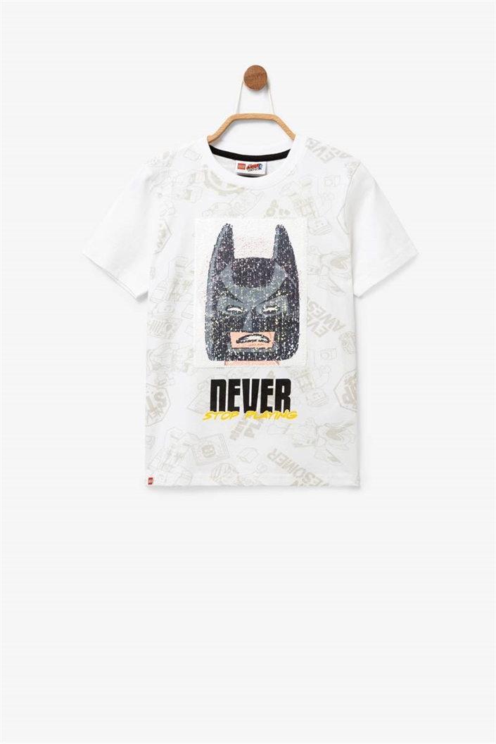 tričko Desigual Movie blanco