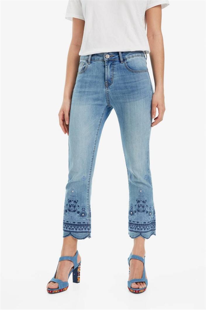 jeansy Desigual Argos denim medium light