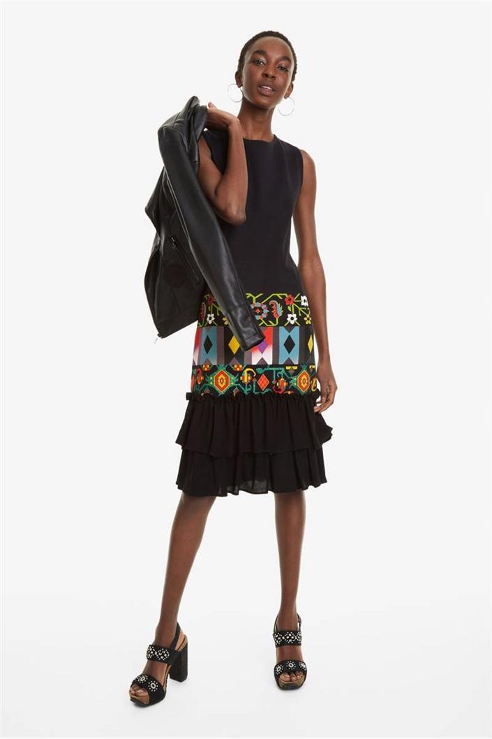 šaty Desigual Elisabet negro