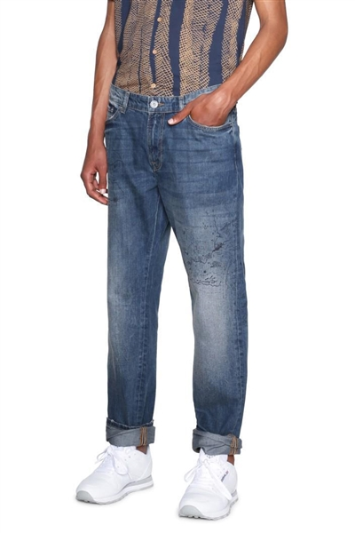 jeansy Desigual Adrien denim medium wash