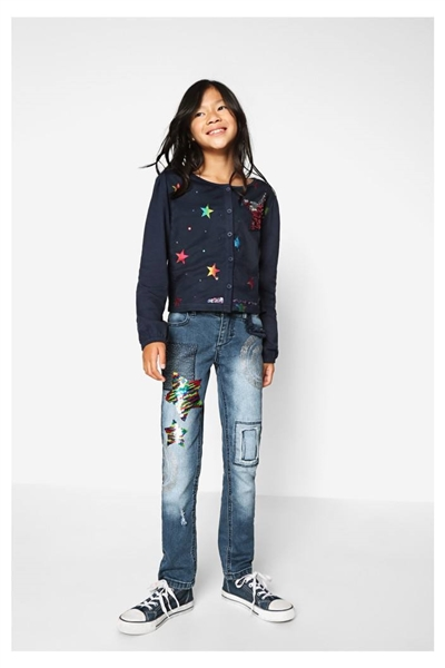 jeansy Desigual Cross jeans