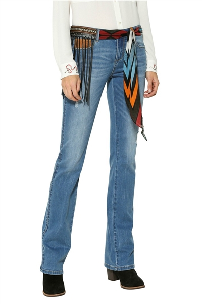 džínsy Desigual Jayne denim medium wash