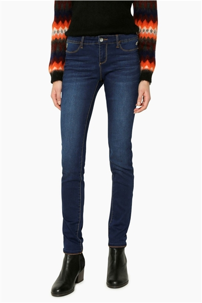 jeansy Desigual Second denim medium dark