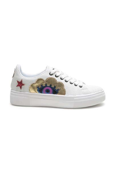 topánky Desigual Star Surreal blanco