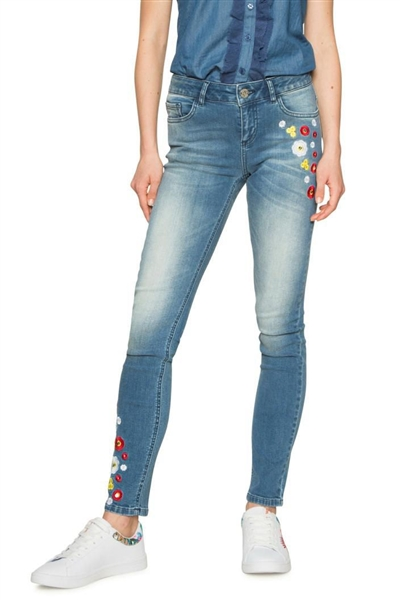 jeansy Desigual Denim Loria denim medium light