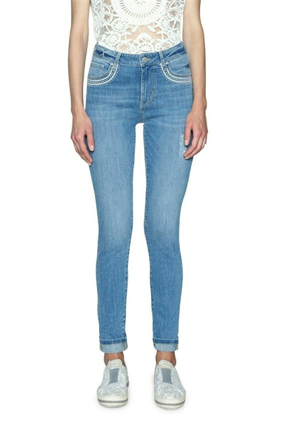 jeansy Desigual Denim Louis denim medium light