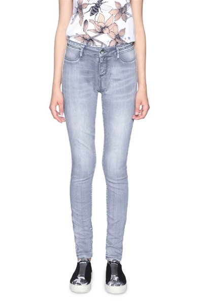 jeansy Desigual Denim Maëline denim light grey