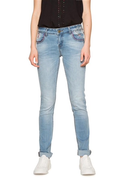 jeansy Desigual Maité denim medium wash