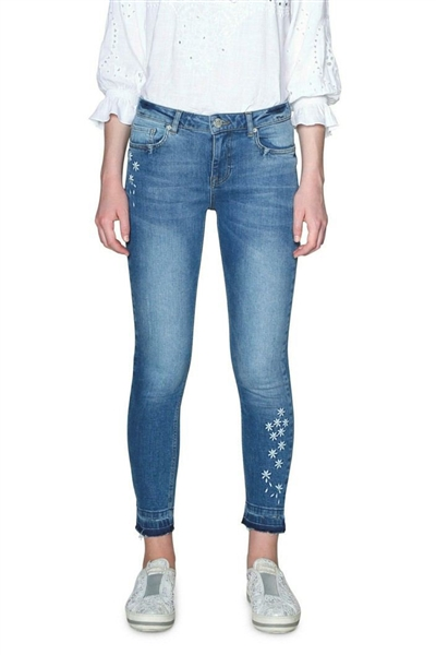 jeansy Desigual Denim Satisfa denim light wash