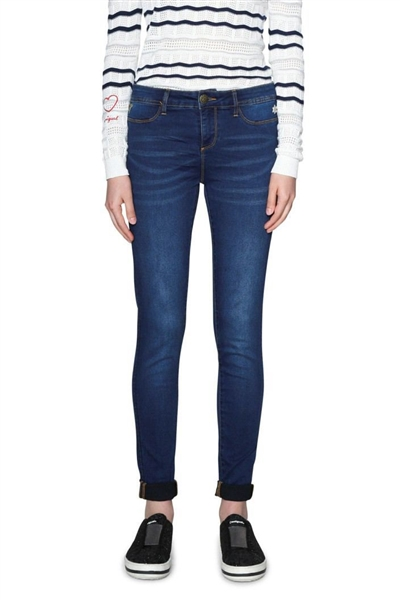 jeansy Desigual Denim Irati denim medium dark