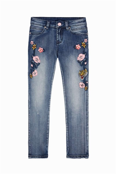 džínsy Desigual Perez denim medium wash