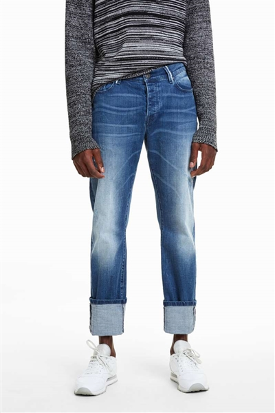 džínsy Desigual Camillo denim medium wash