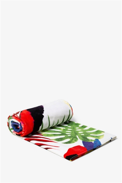 Desigual TOWEL TROPICAL  blanco