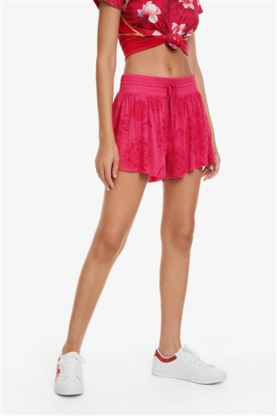 Desigual Hindi Dancer poppy coral