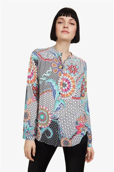 bf64707179e7 košeľa Desigual Verene blanco