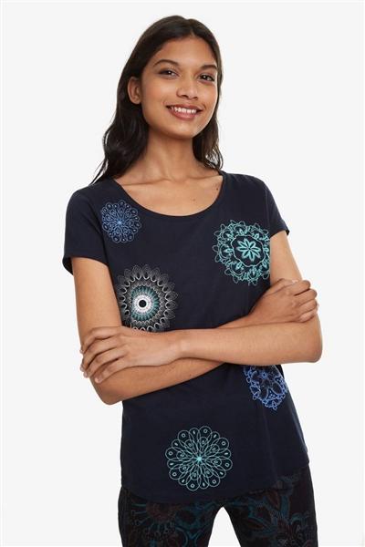 tričko Desigual Sonja marino 115b1b99993