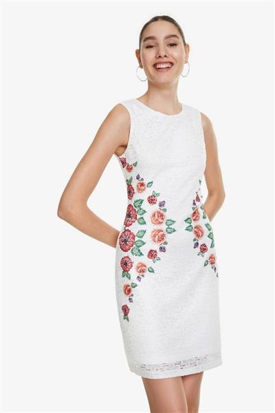 00b5a7ca2833 šaty Desigual Valeria blanco