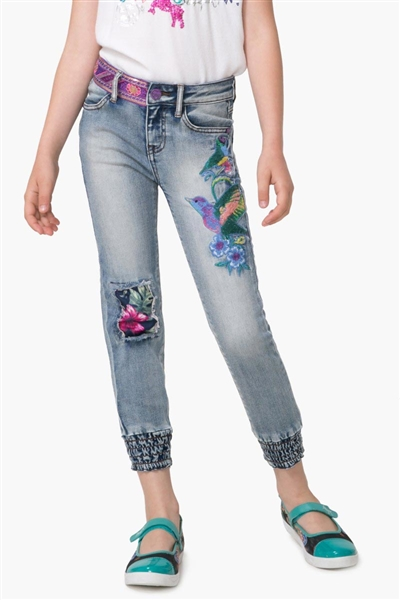 denim Desigual Denim Buman denim light wash