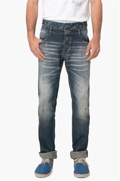 denim Desigual Denim Elegro denim medium wash